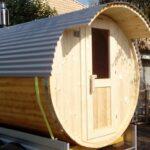 Gartensauna Bausatz Wohnzimmer Gartensauna Bausatz Sauna Fasssauna Saunahaus Saunabausatz Holzsauna Fass