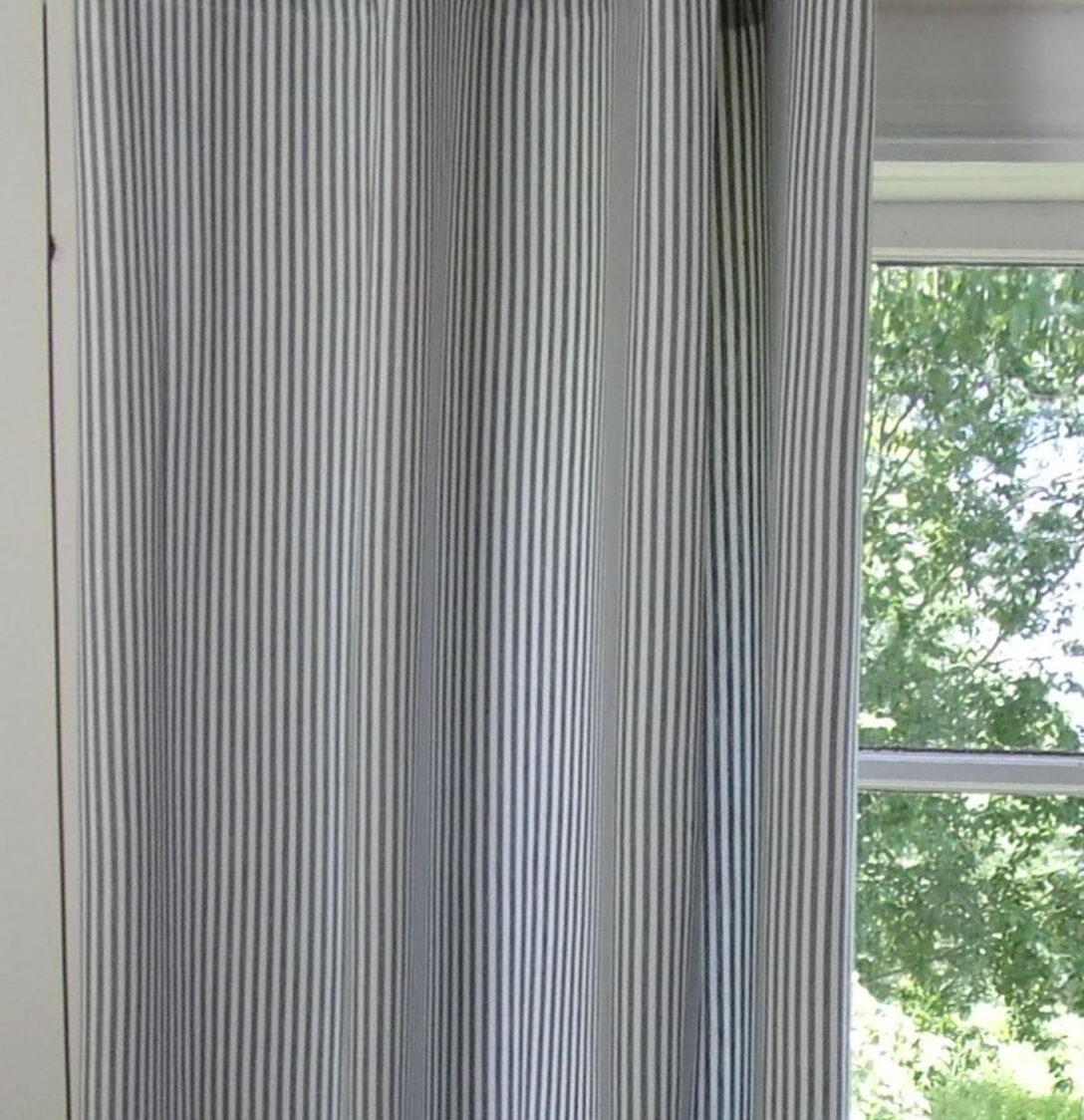 Large Size of Vorhänge Vorhang Pamela Grau Gestreift 2 120x250 Cm Fr Stange Schiene Küche Schlafzimmer Wohnzimmer Wohnzimmer Vorhänge