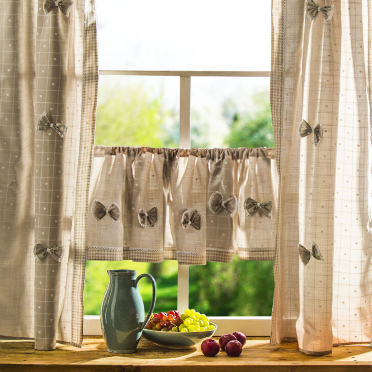 Medium Size of Küchenvorhang Fenstervorhnge Mehr Als 200 Angebote Wohnzimmer Küchenvorhang