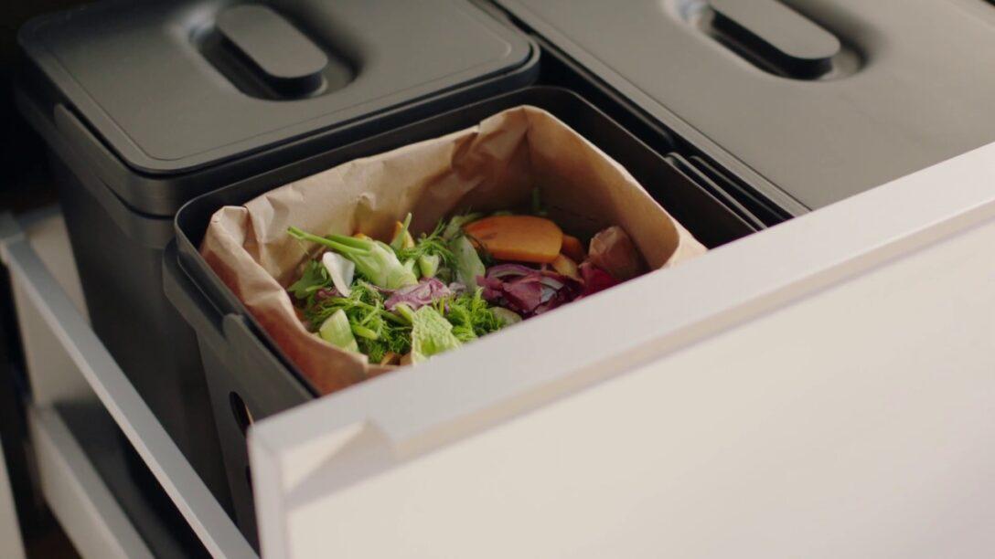 Large Size of Auszug Mülleimer Ikea Wenig Aufwand Fr Eine Nachhaltige Kche Youtube Modulküche Sofa Mit Schlaffunktion Einbau Küche Kosten Betten 160x200 Bei Kaufen Doppel Wohnzimmer Auszug Mülleimer Ikea