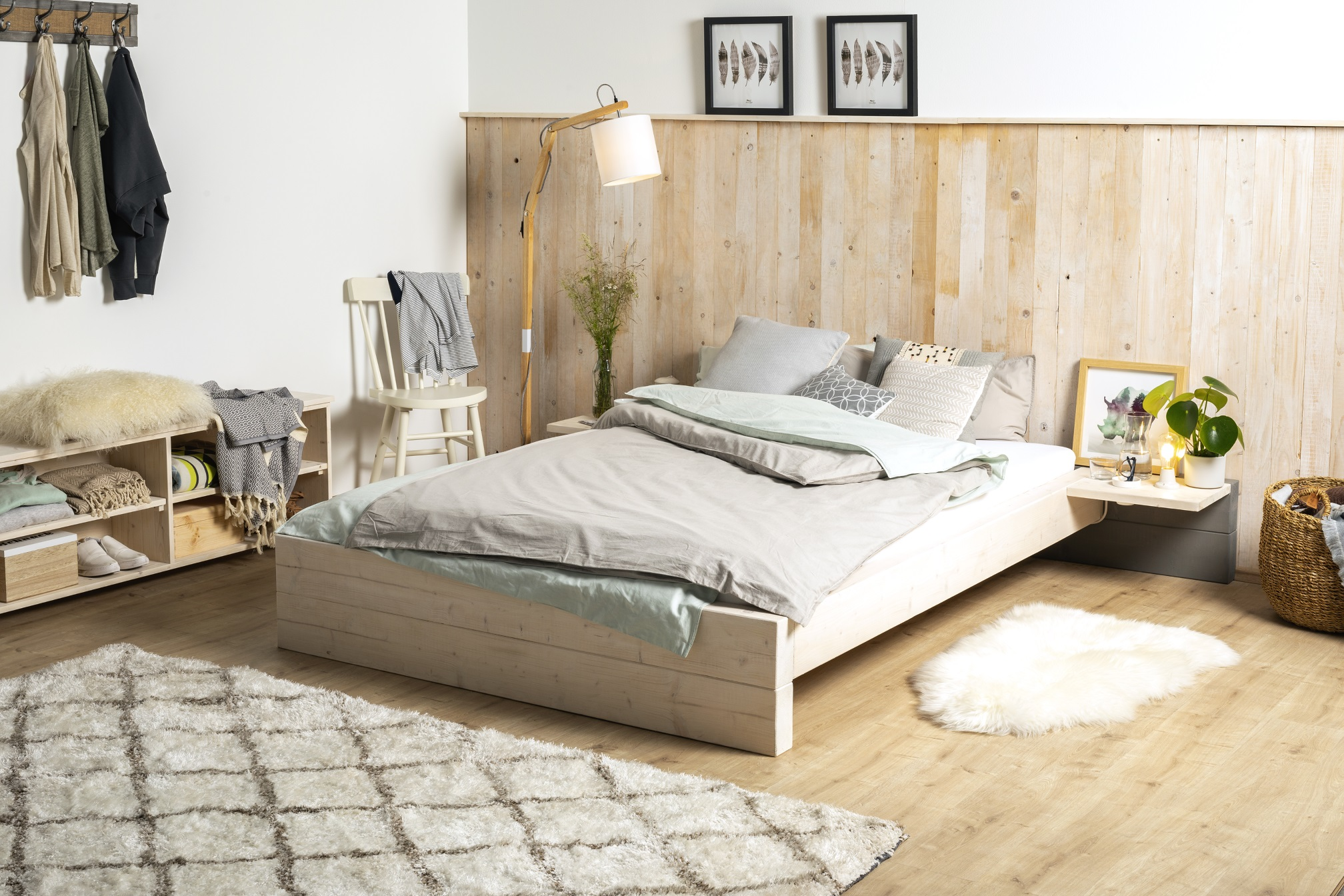 Full Size of Bett Ausziehbar Gleiche Ebene Ikea Paletten Mit Himmel Weiß 180x200 Schlicht Breckle Betten Esstisch Massivholz Sofa Bettkasten 160 Hohes Flexa Matratze Wohnzimmer Bett Ausziehbar Gleiche Ebene