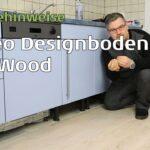 Wineo 600 Vinylboden In Der Kche Verlegen Youtube Im Bad Vinyl Fürs Wohnzimmer Badezimmer Küche Wohnzimmer Küchenboden Vinyl