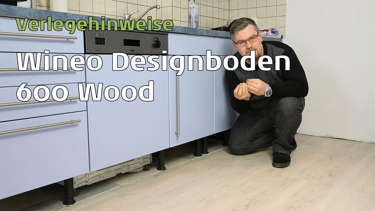Full Size of Wineo 600 Vinylboden In Der Kche Verlegen Youtube Im Bad Vinyl Fürs Wohnzimmer Badezimmer Küche Wohnzimmer Küchenboden Vinyl