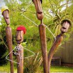 Gartenskulpturen Holz Gestalten 2011 02 Kunst In Holzkunst Esstisch Massivholz Ausziehbar Altholz Loungemöbel Garten Holzregal Badezimmer Modulküche Wohnzimmer Gartenskulpturen Holz