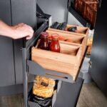Eckschränke Küche Eckschrank Und Kchenschrank Mit Frontauszug Fr D Einbauküche Gebraucht Modulküche Holz Müllschrank Vorhänge Arbeitsschuhe Armaturen Wohnzimmer Eckschränke Küche