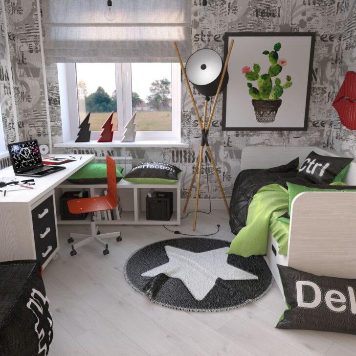 Medium Size of Zimmer Teenager 3d Modell 89 Großes Bild Wohnzimmer Klimagerät Für Schlafzimmer Deckenleuchte Landhausstil Weiß Kleines Badezimmer Neu Gestalten Regal Wohnzimmer Zimmer Teenager
