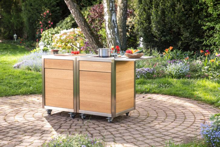 Medium Size of Mobile Kche Fr Designliebhaber Und Individualisten Neoculina Küche Wohnzimmer Mobile Outdoorküche