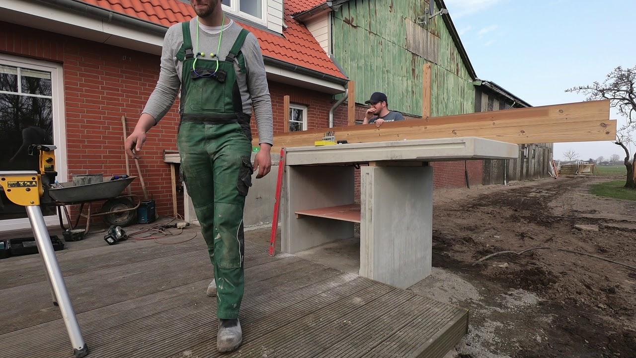 Full Size of Wir Bauen Eine Outdoor Kche Youtube Bodenbeläge Küche Ikea Kosten Was Kostet Lüftungsgitter Deckenlampe Werkbank Schrankküche Sitzecke Treteimer Küchen Wohnzimmer Outdoor Küche Ytong