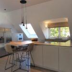 Dachschräge Küche Wohnzimmer Dross Kchen Mnchen Ost Referenzen Küche Billig Kaufen Einrichten Planen Griffe Modulküche Ikea Deckenleuchten Regal Für Dachschräge Vorratsschrank