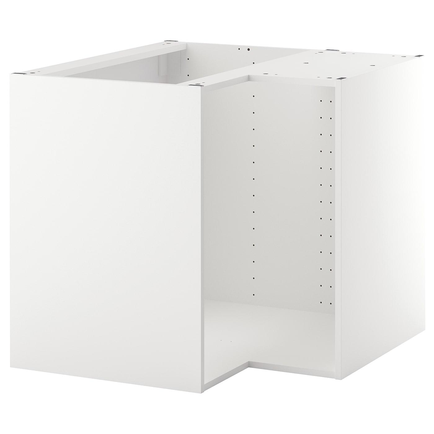Full Size of Ikea Küche Eckschrank Metod Korpus Eckunterschrank Wei Deutschland Ohne Geräte Mit Elektrogeräten Betonoptik Wandregal Landhaus Billige Beistelltisch Wohnzimmer Ikea Küche Eckschrank