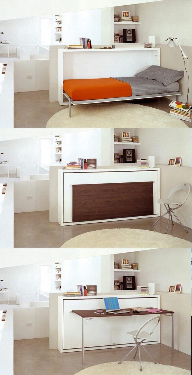 Full Size of Klappbares Doppelbett 30 Einrichtungsideen Fr Schlafzimmer Den Kleinen Raum Optimal Nutzen Ausklappbares Bett Wohnzimmer Klappbares Doppelbett