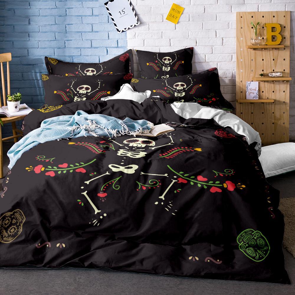 Full Size of Halloween Nacht Bettwsche Set Lustige Cartoon Krbis Bettwäsche Sprüche T Shirt T Shirt Wohnzimmer Bettwäsche Lustig