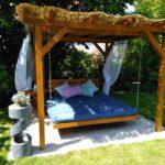 Bali Bett Outdoor Gartenbett Wie Im Urlaub 180x200 Mit Lattenrost Und Matratze 140 Modern Design 90x200 Romantisches Komplett Massiv Betten Landhausstil Antik Wohnzimmer Bali Bett Outdoor