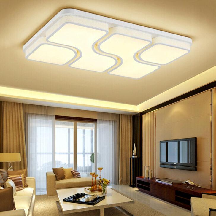 Medium Size of Deckenlampe Wohnzimmer Modern Deckenlampen Brombel 64w Led Deckenleuchte Deckenleuchten Vorhänge Beleuchtung Vitrine Weiß Deko Anbauwand Für Dekoration Wohnzimmer Deckenlampe Wohnzimmer Modern