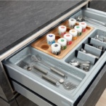 Gewürze Schubladeneinsatz Gewrzeinstze Bringen Ordnung In Kche Schubladen Einfach Küche Wohnzimmer Gewürze Schubladeneinsatz