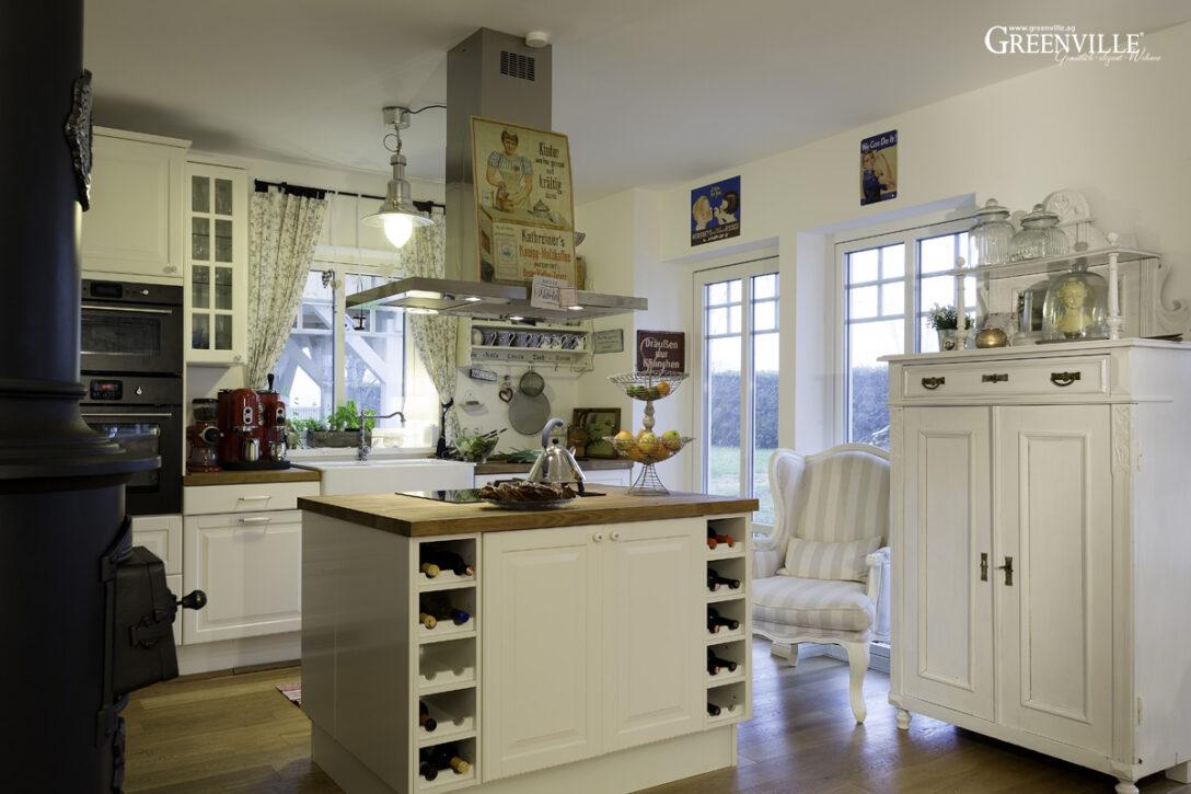 Large Size of Küche Shabby Kleines Schwedenhaus Am Ammersee Wasserhahn Wandanschluss Komplette Gebrauchte Verkaufen Kleiner Tisch Granitplatten Behindertengerechte Wohnzimmer Küche Shabby