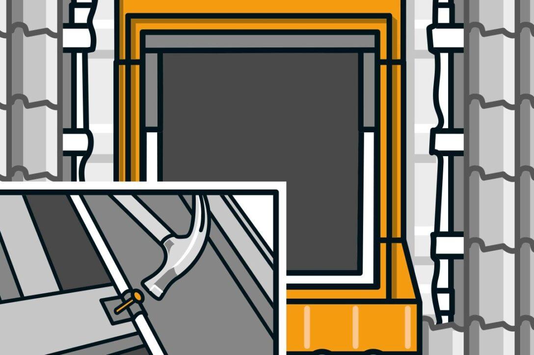 Large Size of Dachfenster Einbauen Genehmigung Lassen Anleitung Innenfutter Roto Innenverkleidung Sparren Entfernen Velux Einbau Firma Preis Wechsel Kosten Einbauanleitung Wohnzimmer Dachfenster Einbauen