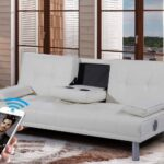 Sofa Mit Musikboxen Couch Lautsprecher Und Led Integriertem Poco Eingebauten Lautsprechern Licht Bluetooth Big Neue Manhattan Modernesleep Designkunstleder Wohnzimmer Sofa Mit Musikboxen