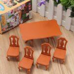 Mini Esstisch Wohnzimmer Diy Schne Mini Mbel Puppenhaus Miniatur Esstisch Stuhl Set 2m Sofa Für Glas Minion Bett Ausziehbar Massiv Massivholz Weiß Miniküche Mit Kühlschrank 80x80