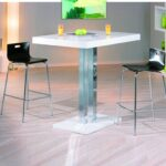 Küchen Bartisch Wohnzimmer Küchen Bartisch Palvam Weiss Hochglanz Bar Hochtisch Stehtisch Tisch Küche Regal