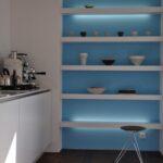 Zwinz Kche Lack Grifflos Regal Beleuchtet Schreinerei Rolladenschrank Küche Aluminium Verbundplatte Erweitern Einzelschränke Mobile Einbauküche Mit Wohnzimmer Unterbauregal Küche