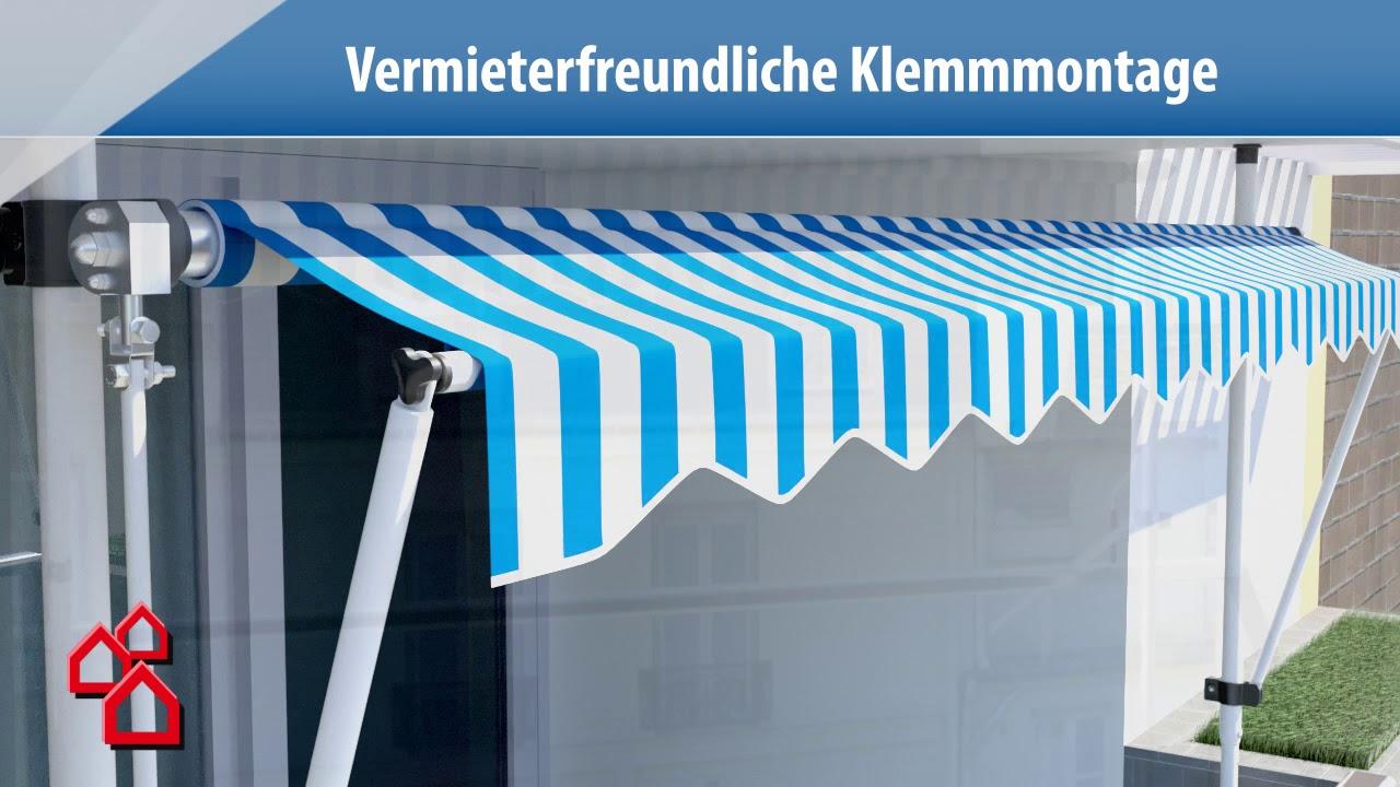 Full Size of Paravent Balkon Bauhaus Sunfun Klemmmarkise Gelb Wei Fenster Garten Wohnzimmer Paravent Balkon Bauhaus