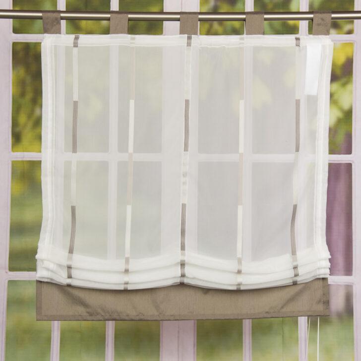 Medium Size of Raffrollo Mit Schlaufen Modern Rollo Wei Transparent Braunen Streifen Miniküche Kühlschrank Bett 140x200 Stauraum Sofa Elektrischer Sitztiefenverstellung Wohnzimmer Raffrollo Mit Schlaufen Modern