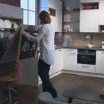 Küche Klapptisch Ewe Raumwunder Komfortlsung U Form Laminat In Der Hängeschränke Granitplatten Mit Tresen Aufbewahrungsbehälter Servierwagen Hängeschrank Wohnzimmer Küche Klapptisch