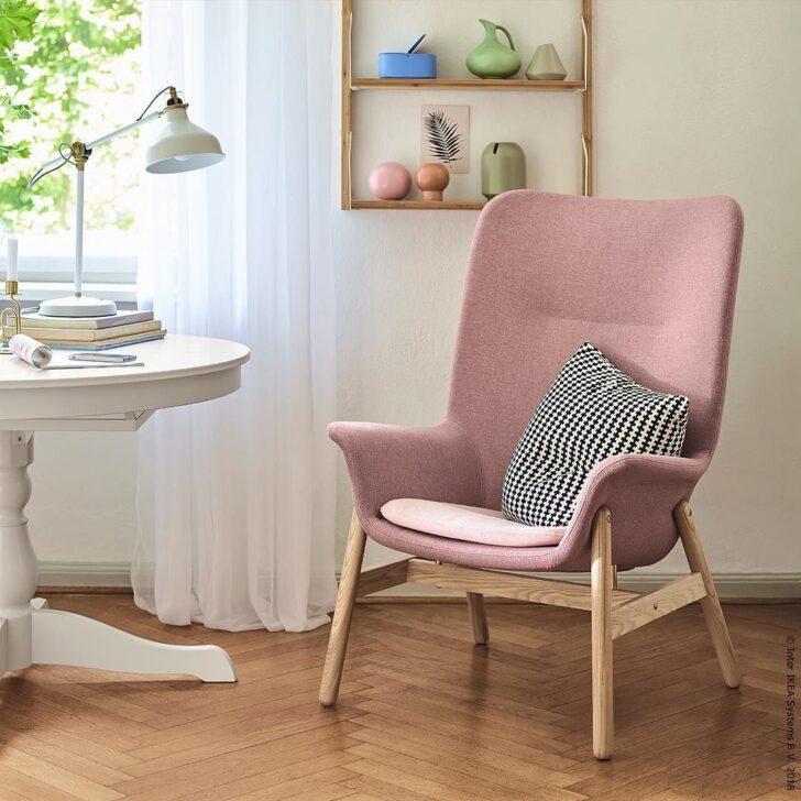 Medium Size of Sessel Rosa Ikea Deutschland On Instagram Luxus Zum Reinlmmeln Vedbo Lounge Garten Relaxsessel Betten Bei Wohnzimmer Küche Schlafzimmer Kosten 160x200 Sofa Wohnzimmer Sessel Rosa Ikea