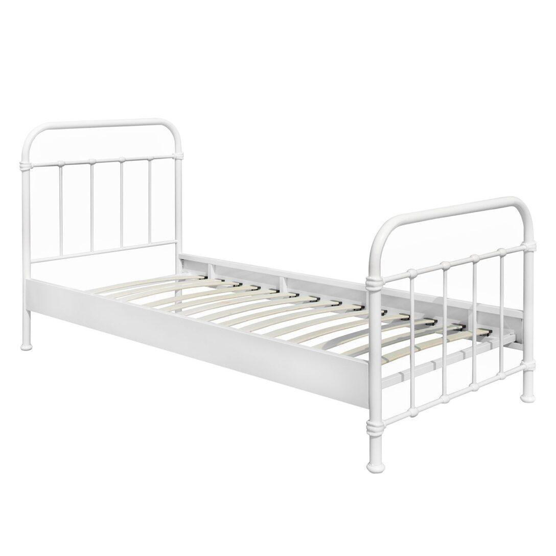 Large Size of Metallbett 100x200 New York Einzelbett Bett Betten Weiß Wohnzimmer Metallbett 100x200