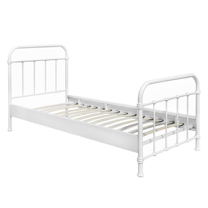 Medium Size of Metallbett 100x200 New York Einzelbett Bett Betten Weiß Wohnzimmer Metallbett 100x200