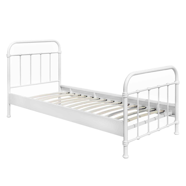 Full Size of Metallbett 100x200 New York Einzelbett Bett Betten Weiß Wohnzimmer Metallbett 100x200