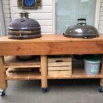 Amerikanische Outdoor Küchen Kche Aus Holz Selber Bauen Inklusive Eingebautem Grill Amerikanisches Bett Regal Küche Kaufen Betten Edelstahl Wohnzimmer Amerikanische Outdoor Küchen