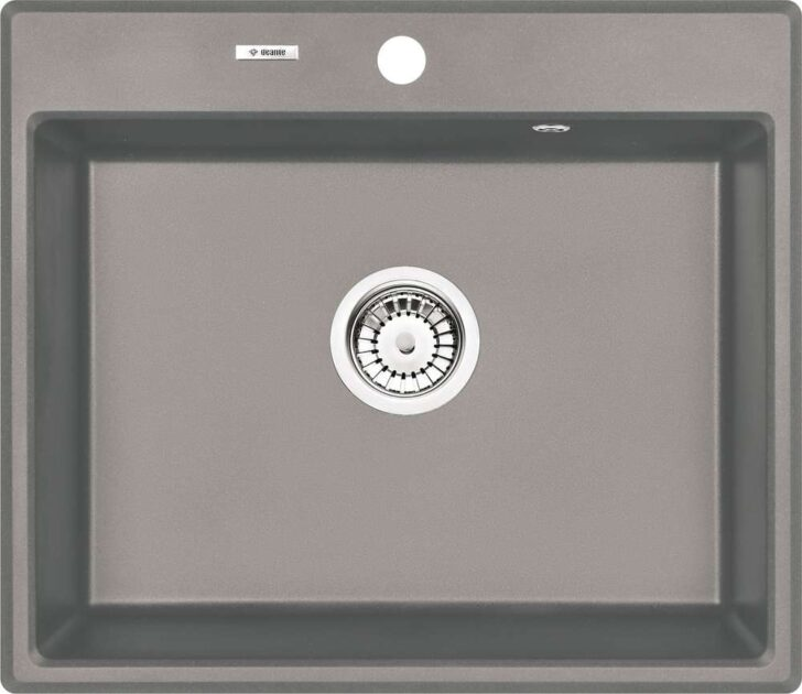 Medium Size of Spülbecken Küche Granit Andante Sple 1 Becken Grau Metallic Industriedesign Tresen Ikea Miniküche Mülltonne Einbauküche Ohne Kühlschrank Bank Wohnzimmer Spülbecken Küche Granit