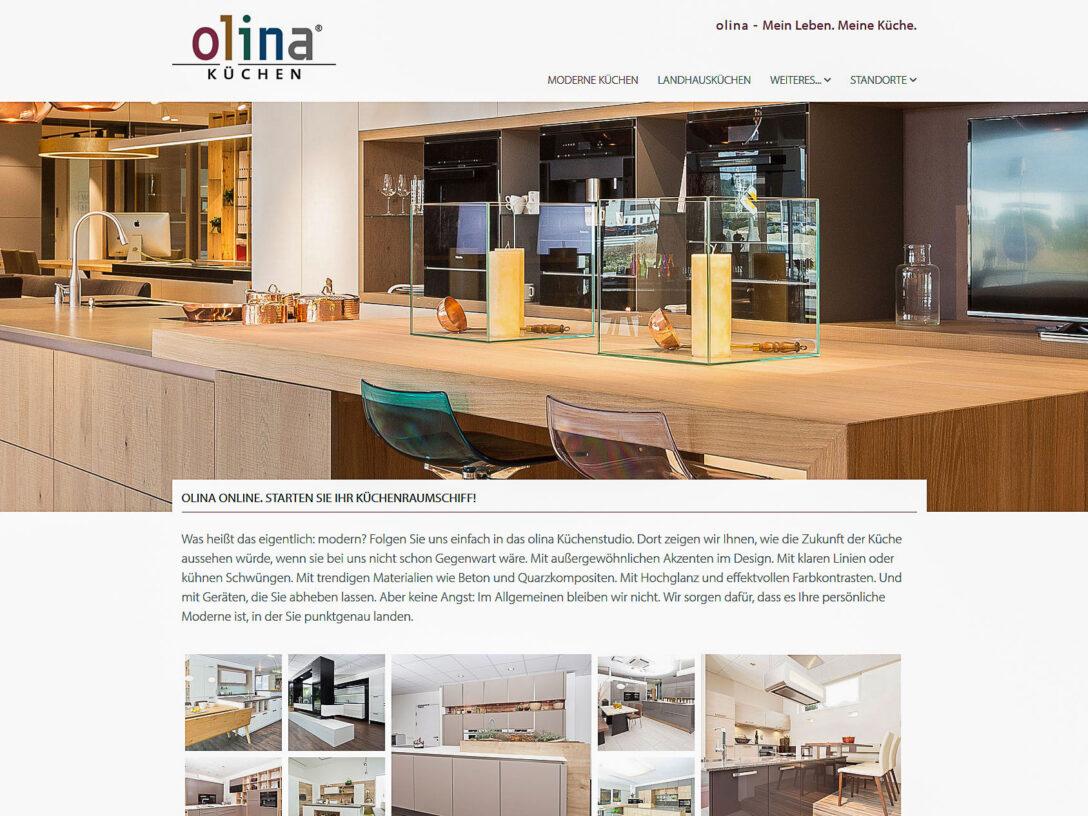 Large Size of Olina Küchen Neue Ist Online Franchise Gmbh Regal Wohnzimmer Olina Küchen