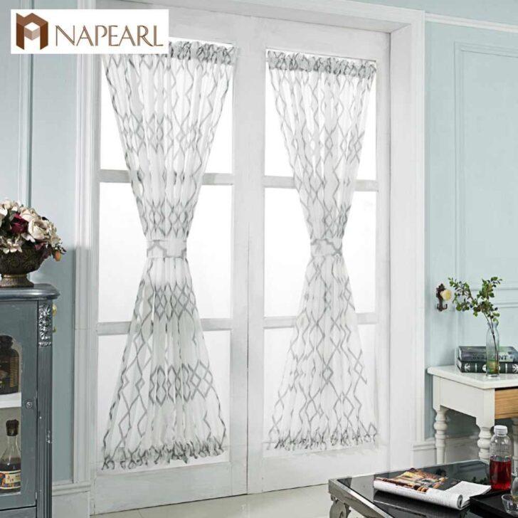 Medium Size of Napearl Kurze Fenster Vorhnge Fr Tr Billig Raffrollo Küche Wohnzimmer Raffrollo Küchenfenster