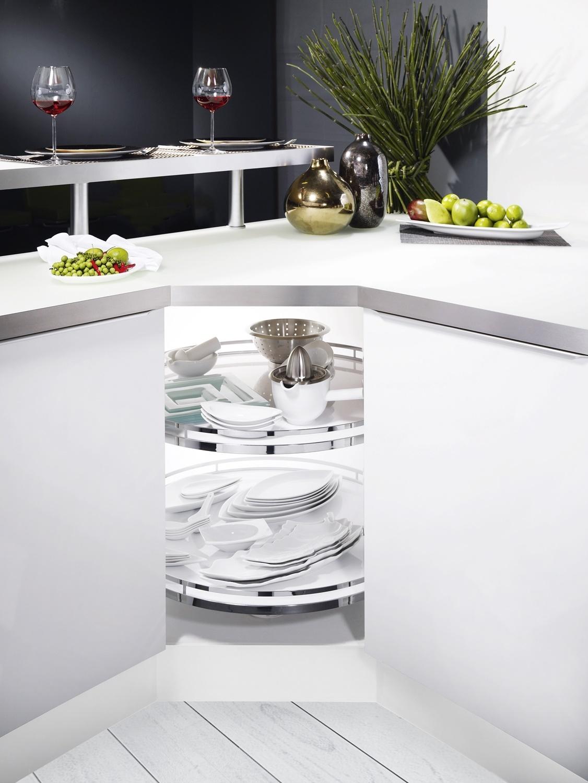 Full Size of Kessebhmer Eckschrank Lsung Fr Ihre Rondell Kche Wohnzimmer Küchenkarussell