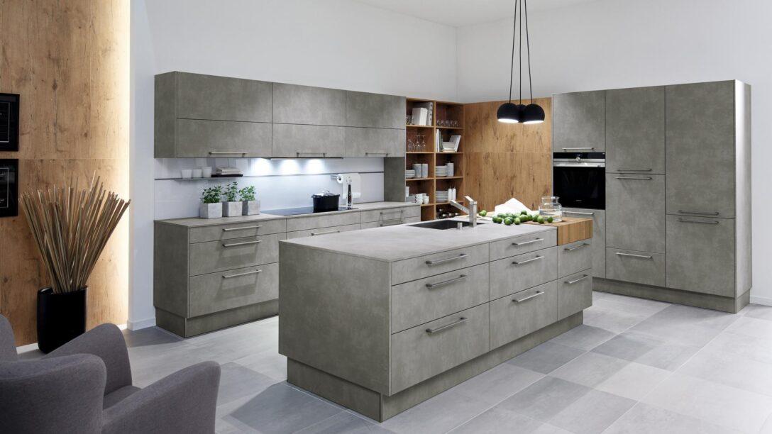 Large Size of Küche Grau Betonoptik Treteimer Aufbewahrungssystem Ebay Einbauküche Kaufen Ikea Gardinen Erweitern Wandpaneel Glas Was Kostet Eine Neue Kreidetafel Billig Wohnzimmer Küche Grau Betonoptik