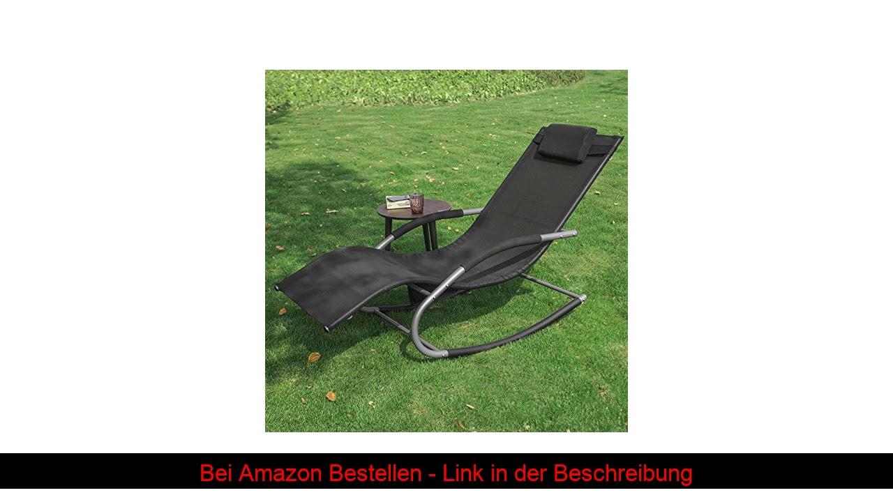 Full Size of Liegestuhl Klappbar Holz Ikea Sobuy 2 Er Set Swingliege Garten Sofa Mit Schlaffunktion Ausklappbares Bett Küche Kaufen Kosten Ausklappbar Betten Bei Wohnzimmer Liegestuhl Klappbar Ikea