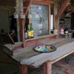 Garten Bar Rustikal Selber Bauen Aus Holz Küche Hochglanz Hängeschrank Glastüren Schrankküche Bodengleiche Dusche Einbauen Raffrollo Ausstellungsküche Wohnzimmer Rustikale Küche Selber Bauen