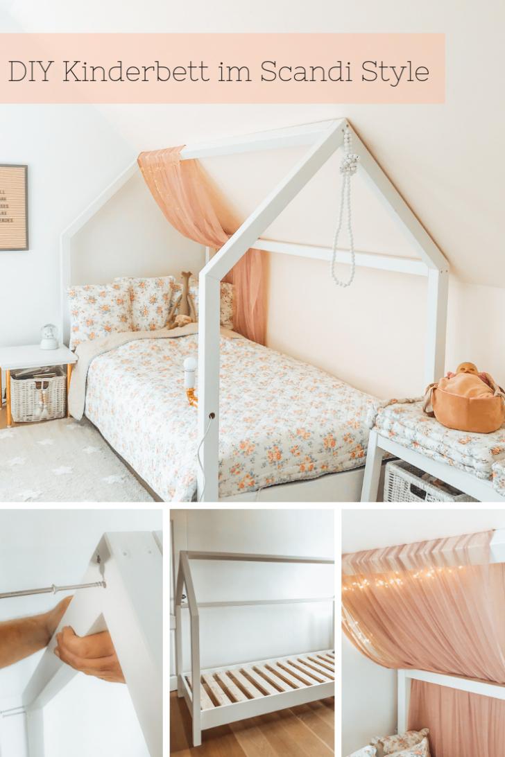 Medium Size of Ein Diy Kinderbett In Hausform Selber Bauen Mit Obi Wohnzimmer Kinderbett Diy