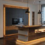 Küche Wildeiche Fichte Altholz Griffhinterlegung Eiche Tapeten Für Die Weiß Hochglanz Glaswand Freistehende Kleine Einbauküche Mini Deckenleuchte L Form Wohnzimmer Küche Wildeiche