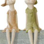 Gartenskulpturen Kaufen Wohnzimmer 2 Gartenskulpturen Kantenhocker Paar Sabrina Lasse Im Set Betten Günstig Kaufen 180x200 Küche Schüco Fenster Regale Amerikanische Gebrauchte Duschen Sofa