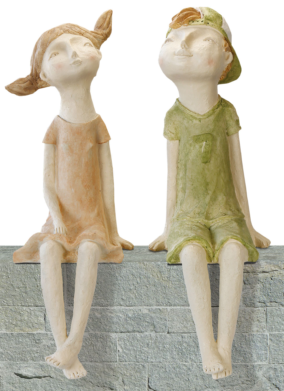 Full Size of 2 Gartenskulpturen Kantenhocker Paar Sabrina Lasse Im Set Betten Günstig Kaufen 180x200 Küche Schüco Fenster Regale Amerikanische Gebrauchte Duschen Sofa Wohnzimmer Gartenskulpturen Kaufen