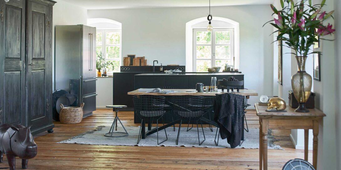 Large Size of Moderne Kche In Alter Villa Werkhaus Kchen Designkchen Aus Freistehende Küche Küchen Regal Wohnzimmer Freistehende Küchen