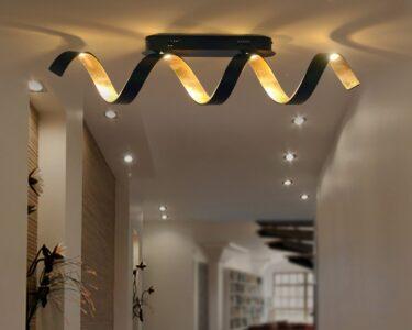 Deckenleuchte Design Wohnzimmer Deckenleuchte Design Gold Led Deckenleuchten Modernes Designklassiker Deckenlampe Designlive Schlafzimmer Modern Stahl 110x25cm Dimmbar 50x42cm