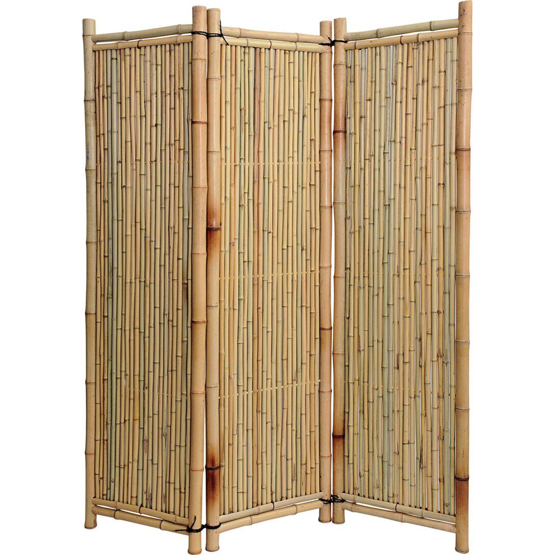 Large Size of Noor Paravent Deluxe Bambus Kaufen Bei Obi Garten Bett Wohnzimmer Paravent Bambus Balkon