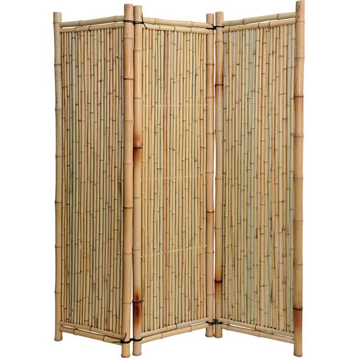 Medium Size of Noor Paravent Deluxe Bambus Kaufen Bei Obi Garten Bett Wohnzimmer Paravent Bambus Balkon