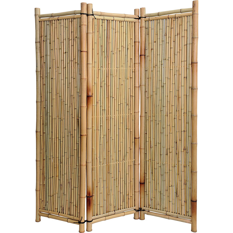 Full Size of Noor Paravent Deluxe Bambus Kaufen Bei Obi Garten Bett Wohnzimmer Paravent Bambus Balkon