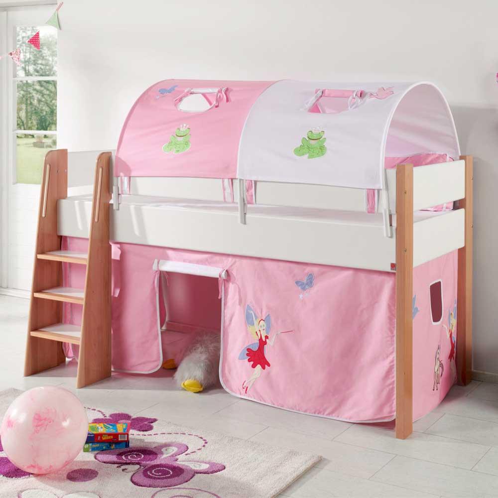 Full Size of Halbhohes Hochbett Roverario Im Fee Design Pharao24de Bett Wohnzimmer Halbhohes Hochbett